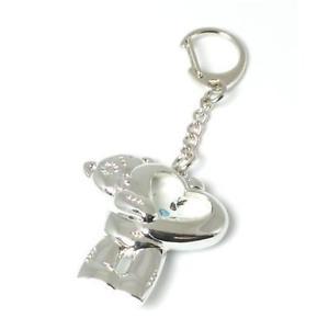 【送料無料】テディハートクロックキーチェーンクリスマスme to you tatty teddy heart orologio portachiavi mtyg11 regalo di natale