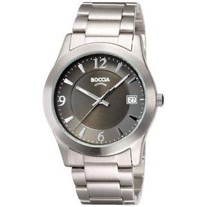【送料無料】クロックboccia b355002 orologio da uomo t8x