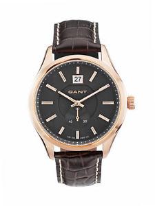 【送料無料】ベルガモブラウンアクセサリorologi gant bergamo_w10994 marrone uomo continuativi accessori