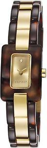 【送料無料】ステンレススチールカラーesprit es106492003 orologio da polso donna, acciaio inox, colore g3c
