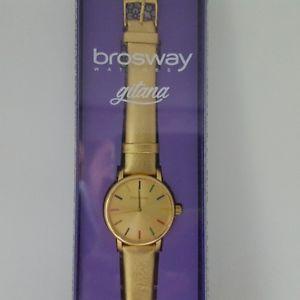 【送料無料】クロックシリーズウォッチorologio brosway gitana serie limitata introvabile,golden limited edition watch