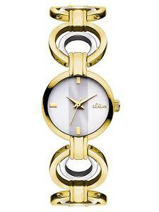【送料無料】オリバーアナログs oliver so3051mq orologio da polso, da donna, al quarzo, analogico, h1b