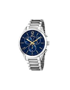 【送料無料】orologio lotus gent steel chrono 181143 blue