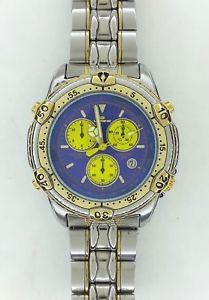 アラームクロノグラフスチールメートルsplendido orologio, cronografo alarm, lorenz, 17544 3s10, cintur acciaio, 100 m