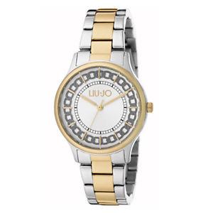 【送料無料】ゴールドリュジョラグジュアリーorologio donna aurelia silver amp; gold tlj1131 liu jo luxury