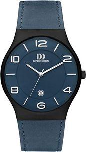 【送料無料】レザーストラップカラーmamp;ms dz120427 orologio da polso da uomo, cinturino in pelle colore t3p