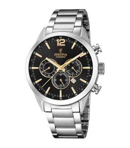 【送料無料】festina orologio cronografo sport f203434 originale nuovo