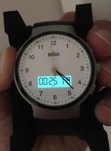 デジタルブラウンウォッチアナログデジタルorologio digitale  gents braun watch, bn0159whbkg, analogue digital display