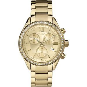 【送料無料】クロノグラフコレクションorologio cronografo donna timex womens collection tw2p66900