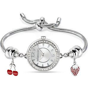 【送料無料】レディドロップスチールシルバーカフorologio donna morellato r0153122586 drops acciaio silver charms bracciale