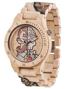 【送料無料】ウッドαベージュorologio in legno wewood alpha woop misterphil beige wood watch