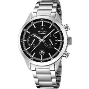 【送料無料】ウォッチクロノグラフリストfestina orologio uomo cronografo timeless f168263 listino 139