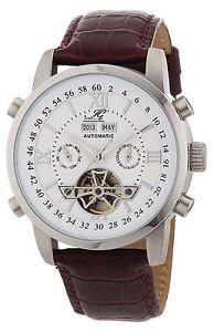 【送料無料】イングラハムカラーingraham ig calc1200103 orologio da polso uomo, pelle, colore d5o