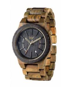 【送料無料】クロッククロックウッドウォッチorologio wewood assunt army orologio di legno wood watch