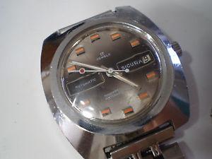 【送料無料】ブライトリングクロックsicura breitling raro orologio automatico perfettamente funzionante ma leggi ben