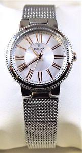 【送料無料】ウォッチスチールウォッチorologio festina donna ragazza f169651 acciaio water resistant watch