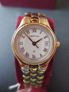 【送料無料】レディサファイアクリスタルクロックビンテージcertina lady sapphire crystal orologio watch vintage anni 70 water resist