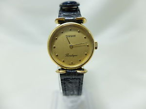 【送料無料】ティソビンテージブティックorologio tissot boutique vintage cal 2137 placcato oro donna carica manuale 5