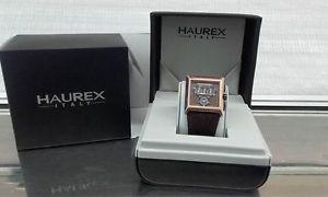 【送料無料】クロックエスケープコレクションorologio uomo haurex collezione escape ref 9r335umn
