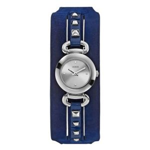 【送料無料】スワロフスキーorologio guess lady leather swarovski w0160l3