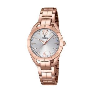 【送料無料】スチールfestina orologio donna acciaio pvd ros f169351