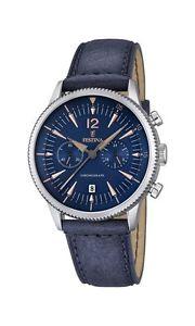 【送料無料】クロノグラフストラップウォッチfestina orologio da uomo al quarzo con display con cronografo e cinturino d0n