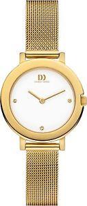 【送料無料】ドナmamp;ms dz120395 orologio da polso da donna colore oro i1r