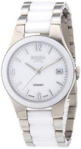 【送料無料】クロックboccia 318901 orologio donna v2k