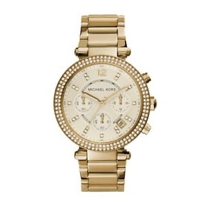 【送料無料】ミハエルレディースパーカークロノグラフウォッチmichael kors mk5354 ladies parker chronograph watch