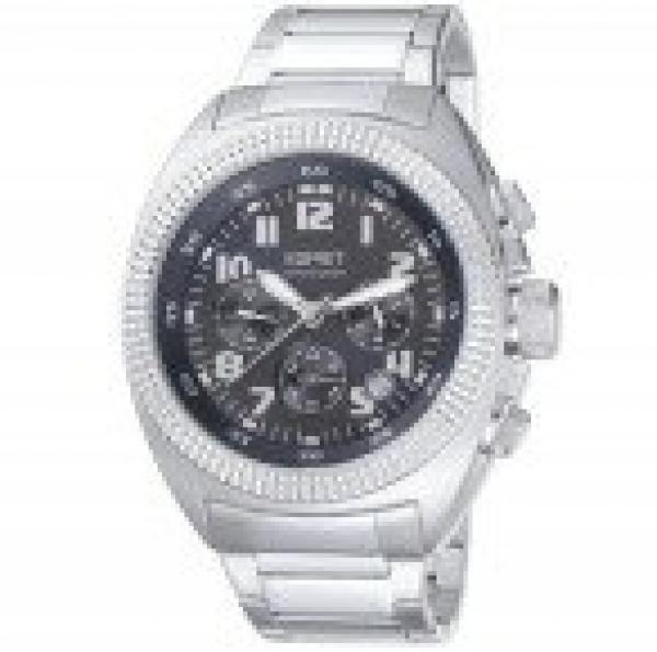 【送料無料】ステンレススチールストラップesprit es900491006 orologio da polso da uomo, cinturino in acciaio inox t4s