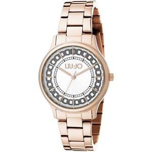 レディアウレリアゴールドローズリュジョラグジュアリーorologio donna aurelia gold rose tlj1130 liu jo luxury