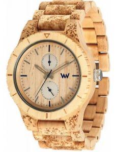 クロックマンベージュストーンwewood orologio uomo  kean stone beige montrerelojherrenuhrwatch
