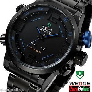 【送料無料】スタイリッシュスポーツクラシックオリジナルelegante orologio uomo weide 2309 sport classic led watch originale con garanzia