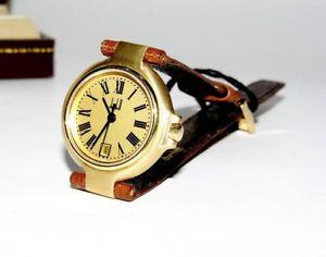 【送料無料】ダンヒルクォーツゴールデンストラップdunhill orologio al quarzo donna dorato cinturino pelle 2595