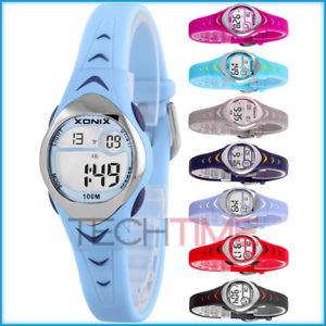 【送料無料】クロックスポーティモデルタイマーアラームxonix orologio piccolo, sportivo model,timer, allarme, impermeabile 100m, per