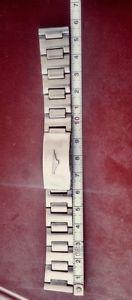 【送料無料】ビンテージブレスレットアドミラルオリジナルスチールrare vintage bracelet longines,admiral,conquest,18mm original ssteel