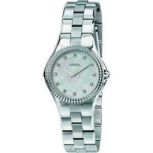 ファッションウォッチmoda orologio breil curvy donna solo tempo con cristalli  tw1730