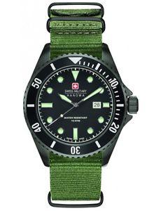 スイスクロックマンワットswiss military hanowa orologio uomo  06427913007 montrerelojherrenuhrwat