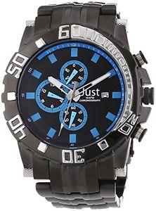 【送料無料】ポンドクロックjust uhren 48stg2370bkbl orologio da uomo b7s