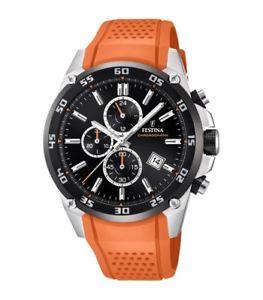 【送料無料】ウォッチクロノグラフスポーツfestina orologio cronografo sport f203304 originale nuovo