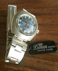 ビンテージウォッチdeman watch authomatic vintage 70 nos