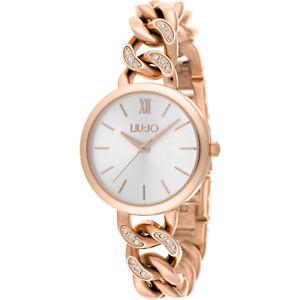 【送料無料】チェーンゴールドローズリュジョorologio donna pretty chain gold rose liu jo luxury tlj1192a