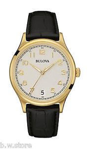 クロッククラシックコレクションゴールドリファレンスorologio bulova classic collection gold ref97b147