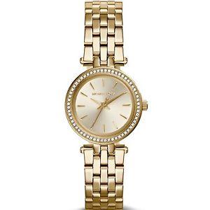 【送料無料】クロックミハエルミニゴールドorologio michael kors mini darci mk3295 oro donna lady watch dorato small