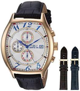 【送料無料】ステンレススチールクオーツクロックinvicta 14330 specialty orologio da uomo acciaio inossidabile quarzo o3v