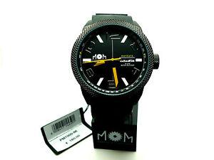 【送料無料】モデナスチールmom manifattura orologi modena pm700096 day date acciaio nero
