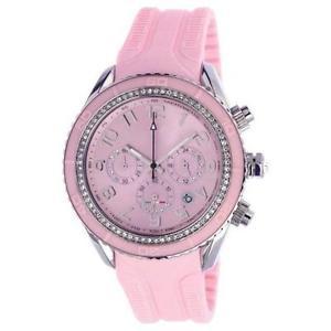 【送料無料】ファッションシリコーンピンクボールルピーmoda orologio t10 maracuja in silicone rosa , 3 sfere e strass t10c010rs