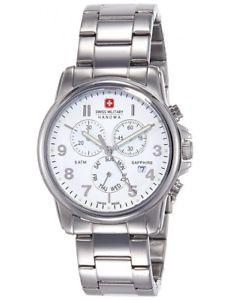 【送料無料】スイスクロックマンワットswiss military hanowa orologio uomo 06523304001 montrerelojherrenuhrwat