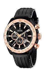 【送料無料】ストップウォッチストラップfestina orologio al quarzo da uomo con display con cronografo e cinturino j9w