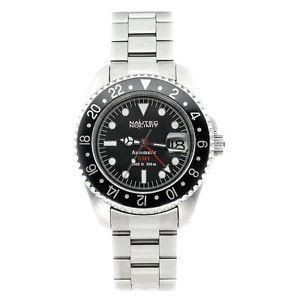【送料無料】クロックnautec no limit deep sea ds gmtstbk orologio da uomo q9f